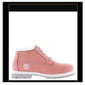 Timberland Nellie Waterproof Chukka Pink Nu Boots